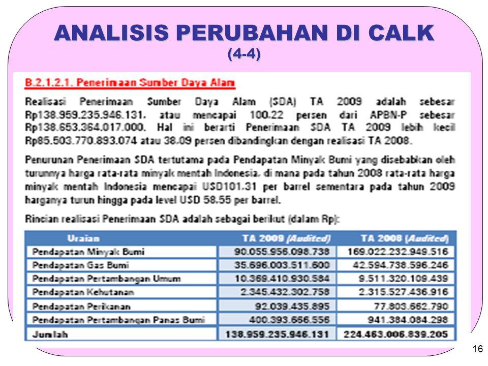 ANALISIS PERUBAHAN DI CALK (4-4)
