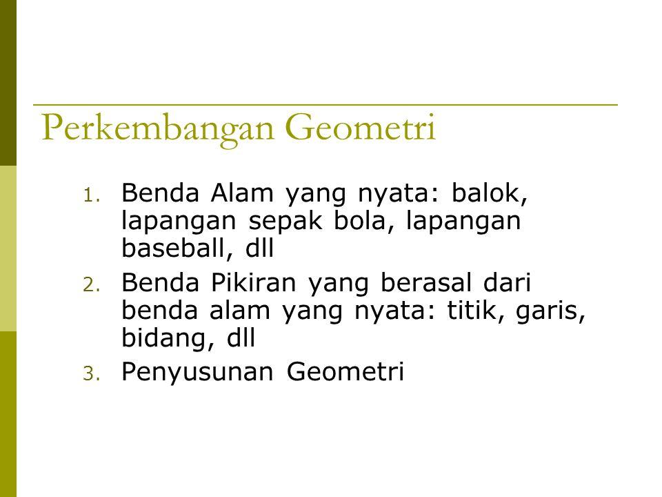 Perkembangan Geometri