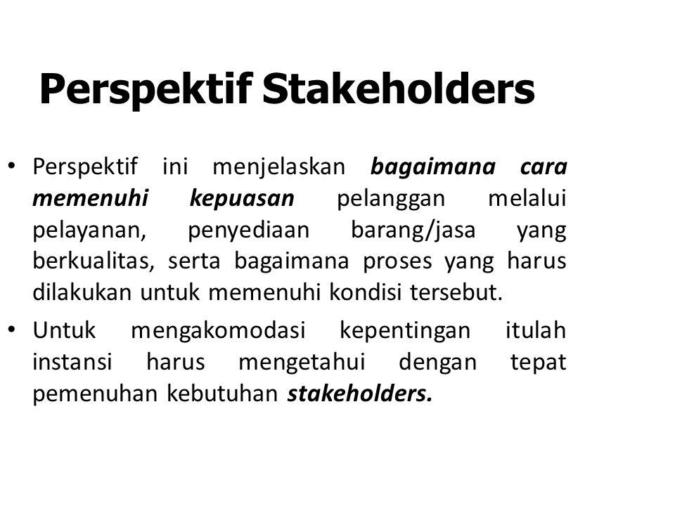 Perspektif Stakeholders