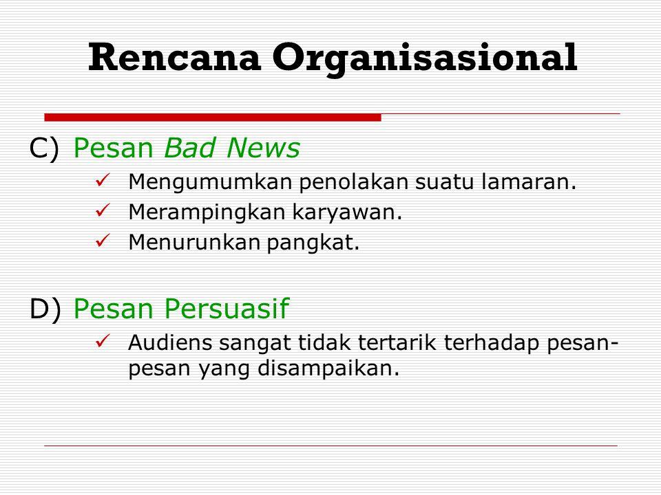 Rencana Organisasional