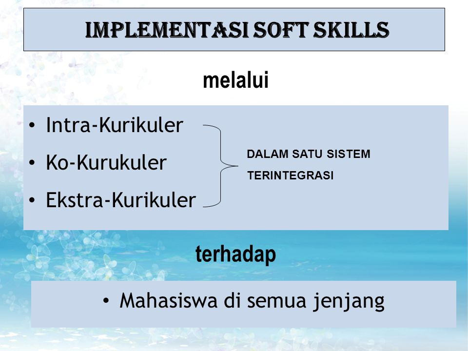 Implementasi Soft Skills
