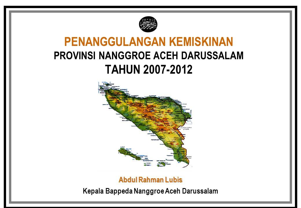 Kepala Bappeda Nanggroe Aceh Darussalam