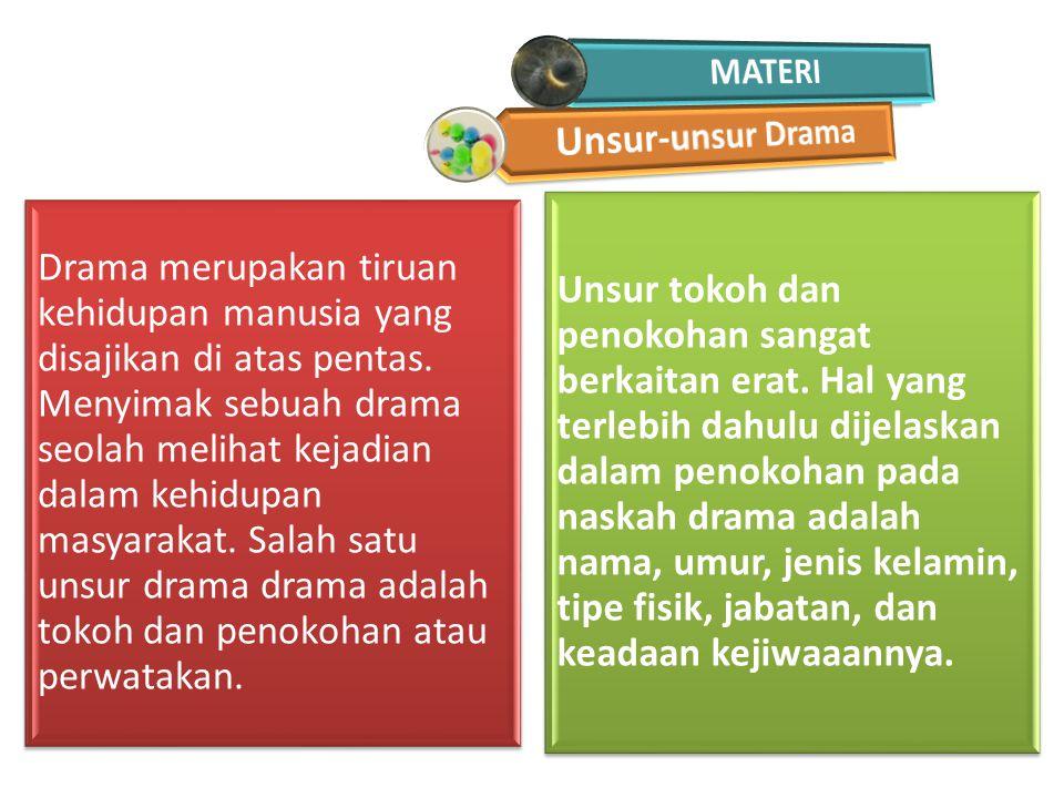 MATERI Unsur-unsur Drama