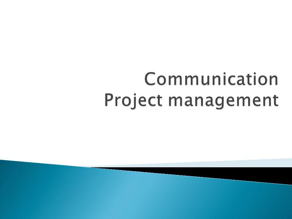 Communication Project management