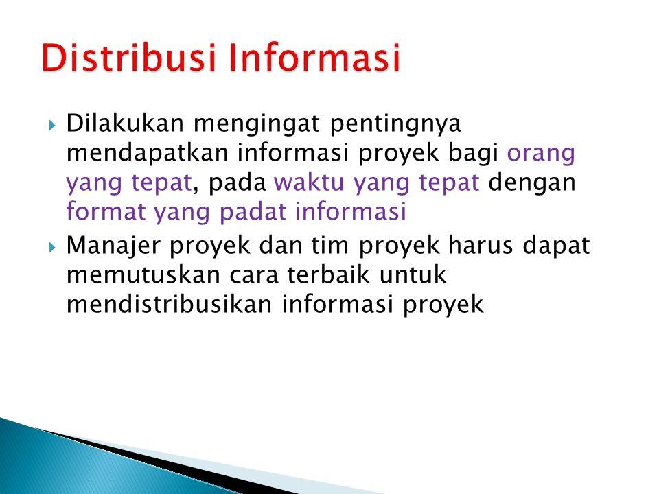 Distribusi Informasi