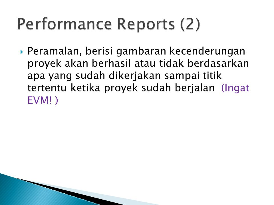 Performance Reports (2)