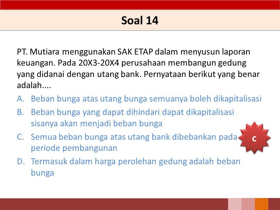 Soal 14