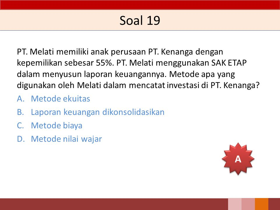 Soal 19