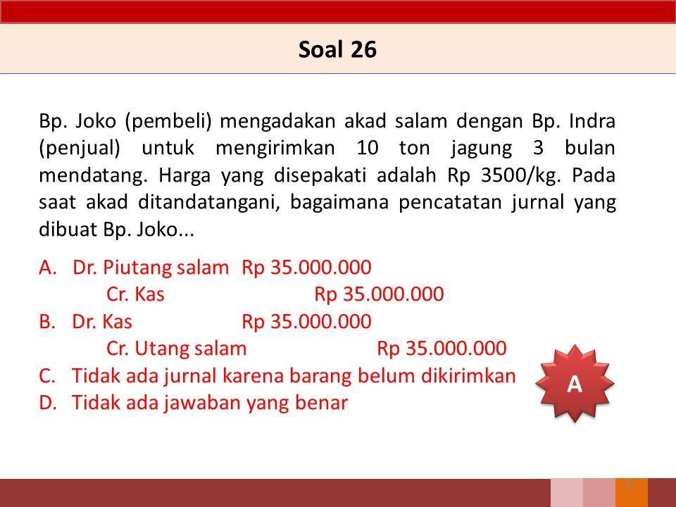 Soal 26