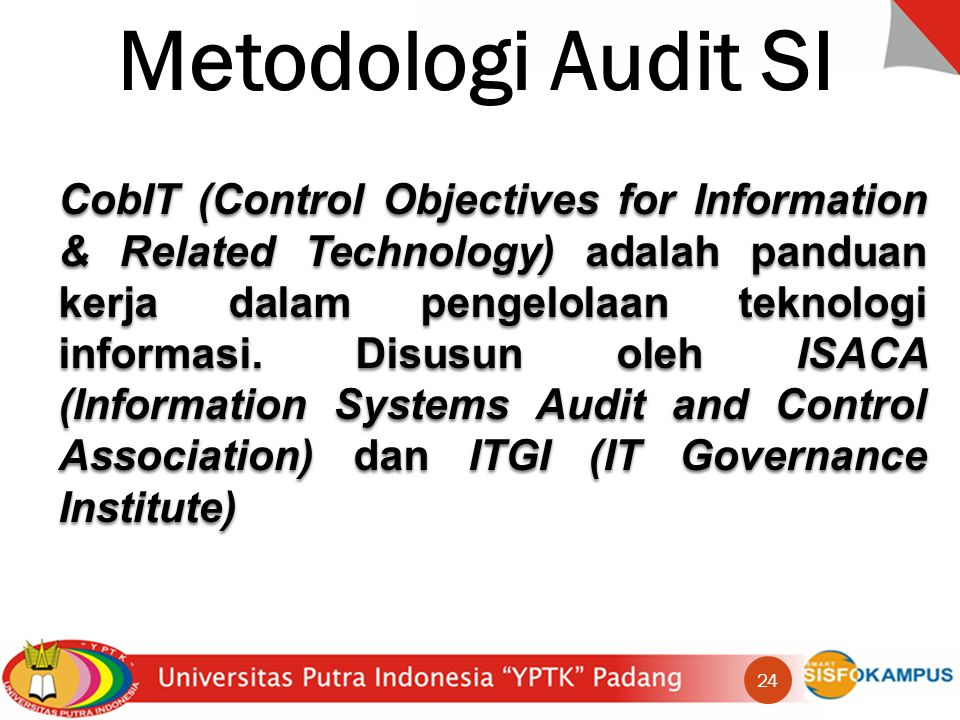 Metodologi Audit SI