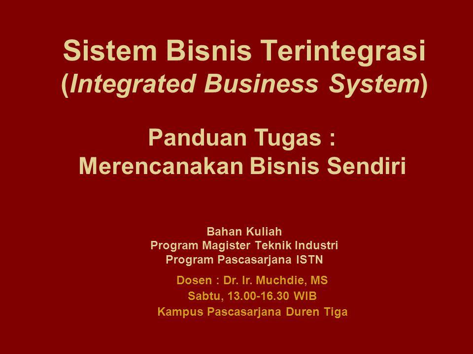 Sistem Bisnis Terintegrasi (Integrated Business System)