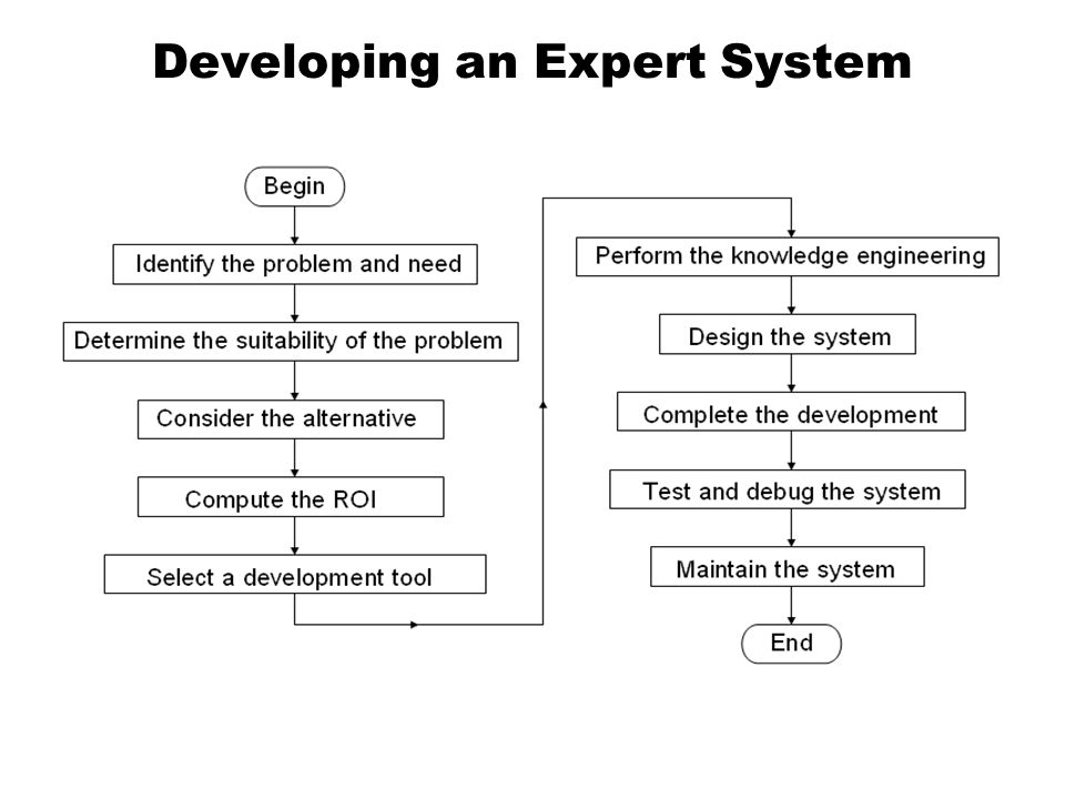 Developing an Expert System