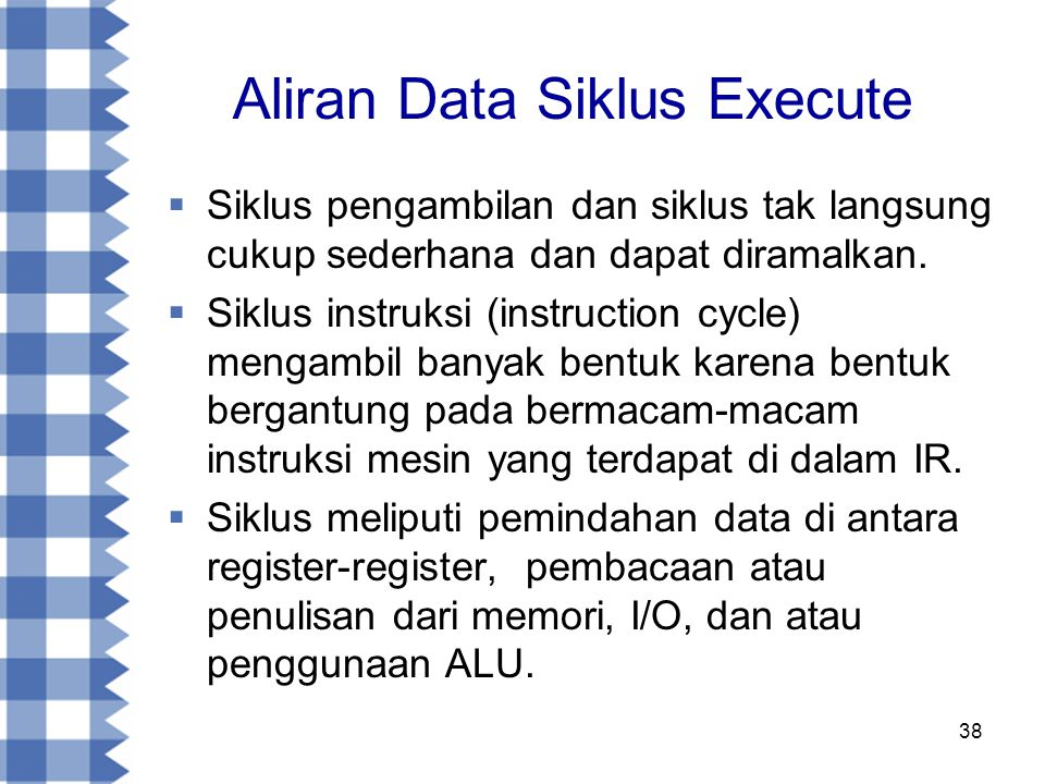 Aliran Data Siklus Execute