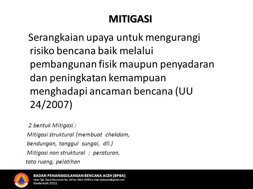 MITIGASI