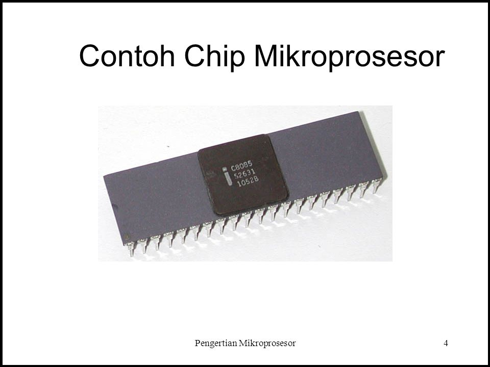 Contoh Chip Mikroprosesor