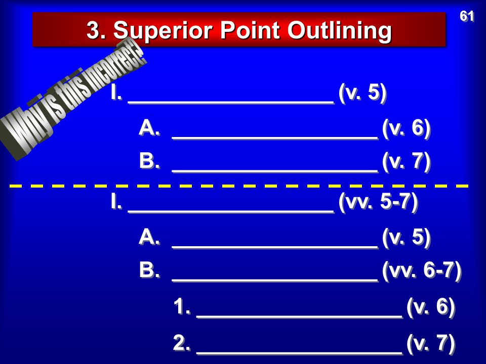 3. Superior Point Outlining