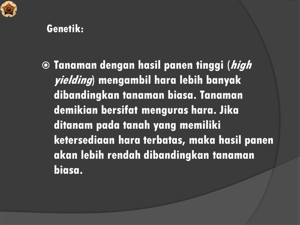 Genetik: