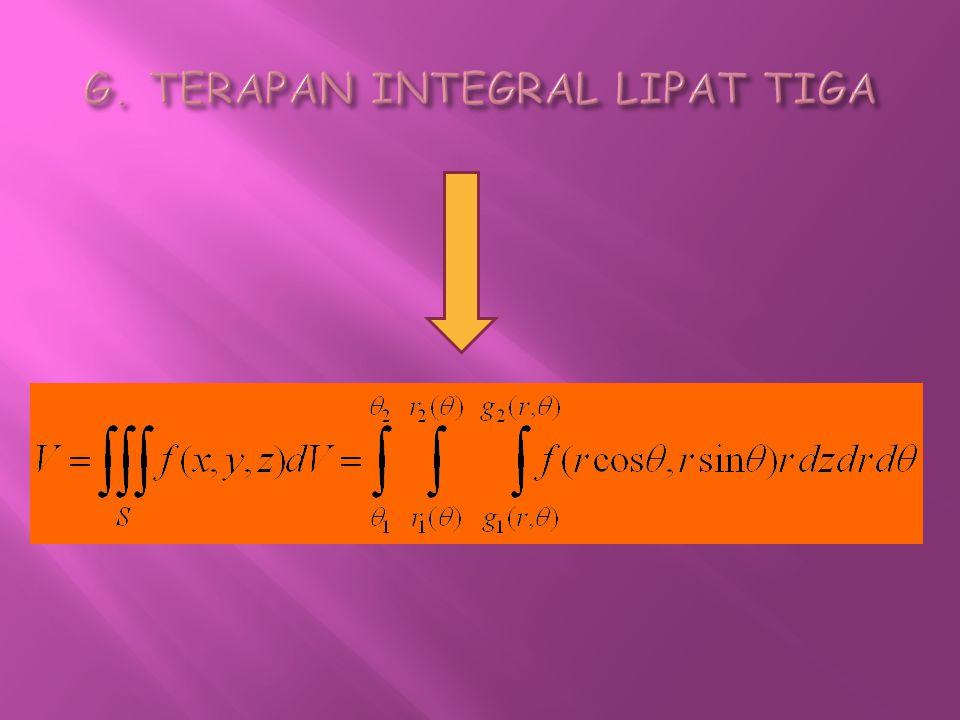 G. TERAPAN INTEGRAL LIPAT TIGA
