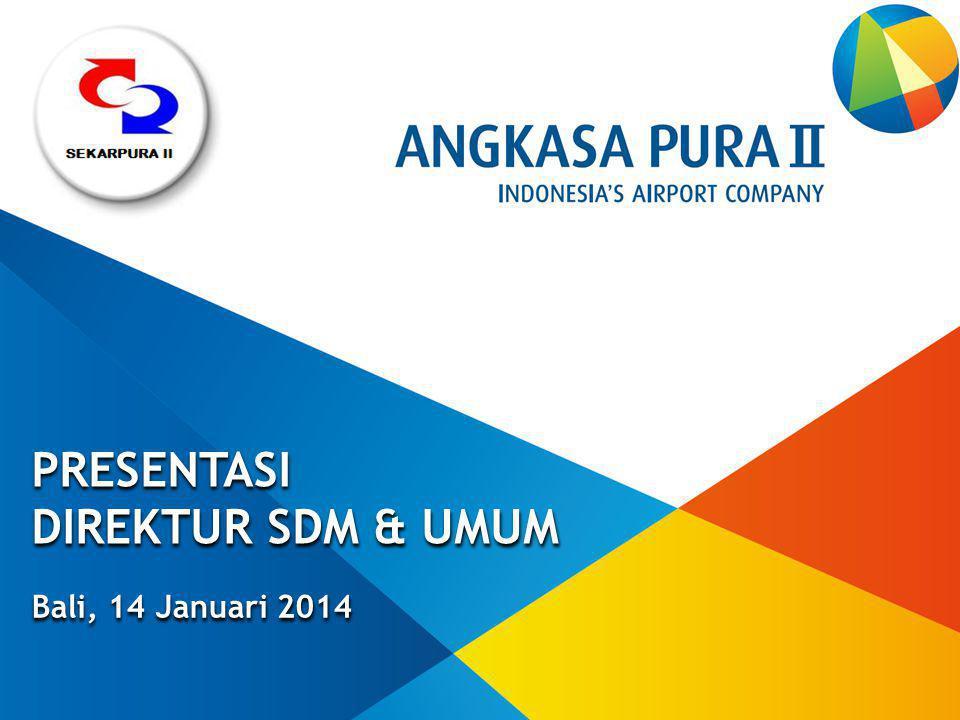 PRESENTASI DIREKTUR SDM & UMUM Bali, 14 Januari 2014