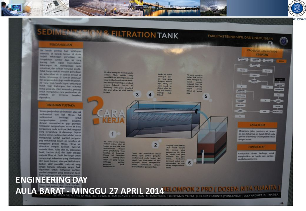 ENGINEERING DAY AULA BARAT - MINGGU 27 APRIL 2014