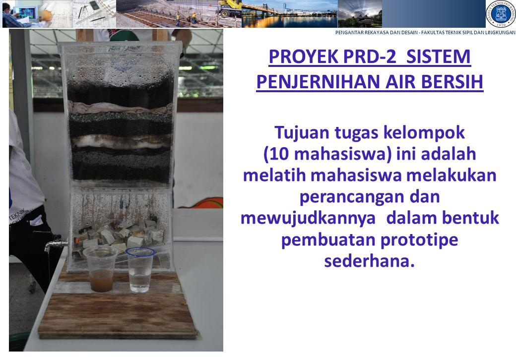 PROYEK PRD-2 SISTEM PENJERNIHAN AIR BERSIH