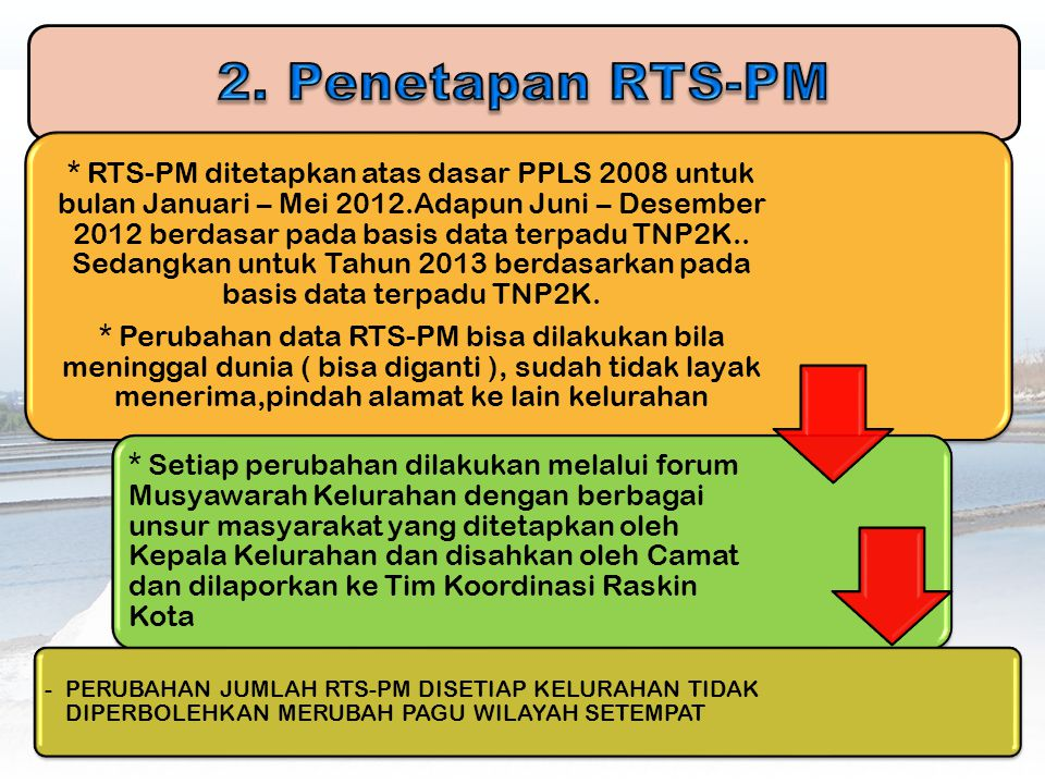 2. Penetapan RTS-PM