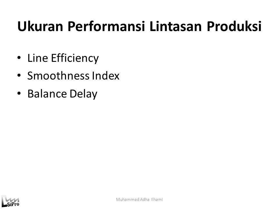 Ukuran Performansi Lintasan Produksi
