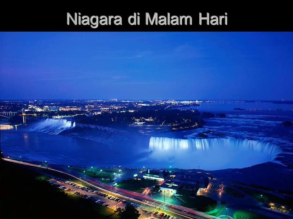 Niagara di Malam Hari