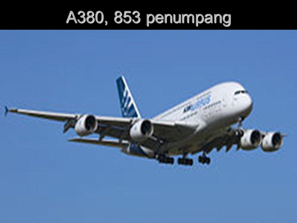 A380, 853 penumpang