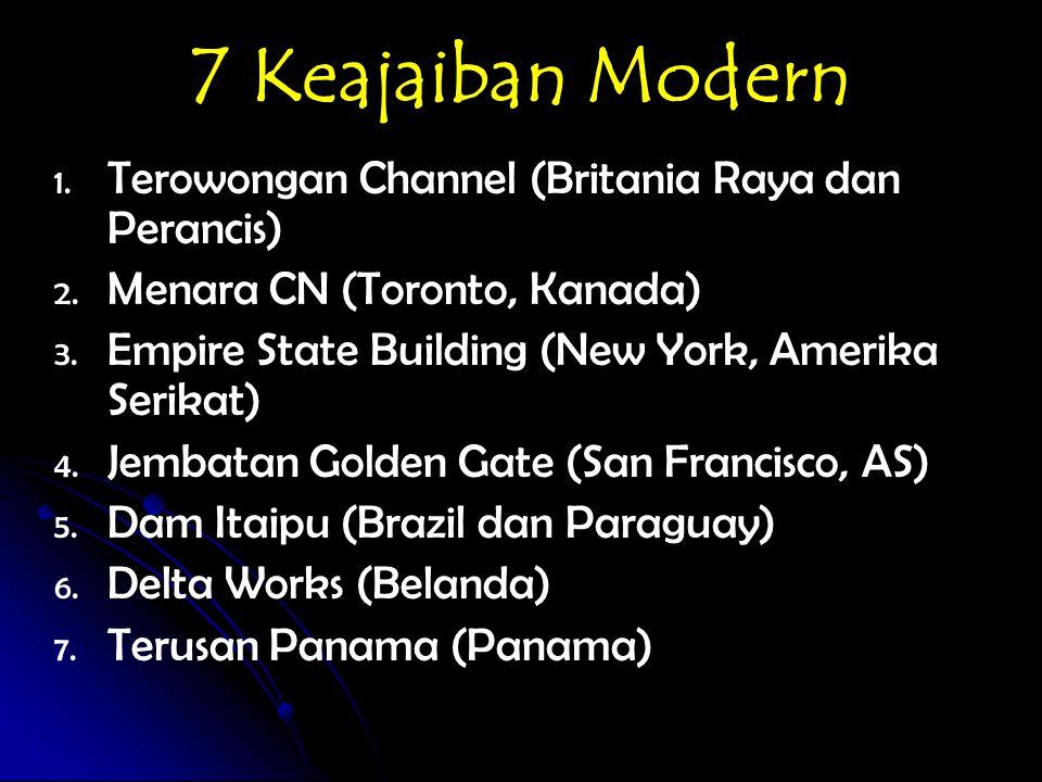 7 Keajaiban Modern Terowongan Channel (Britania Raya dan Perancis)