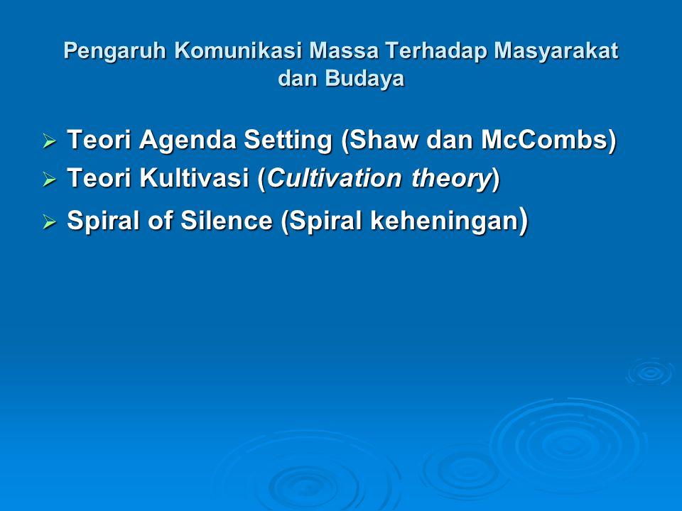 Pengaruh Komunikasi Massa Terhadap Masyarakat dan Budaya