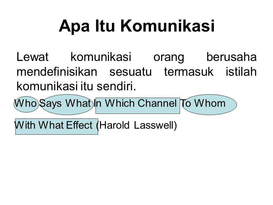 Apa Itu Komunikasi Lewat komunikasi orang berusaha mendefinisikan sesuatu termasuk istilah komunikasi itu sendiri.