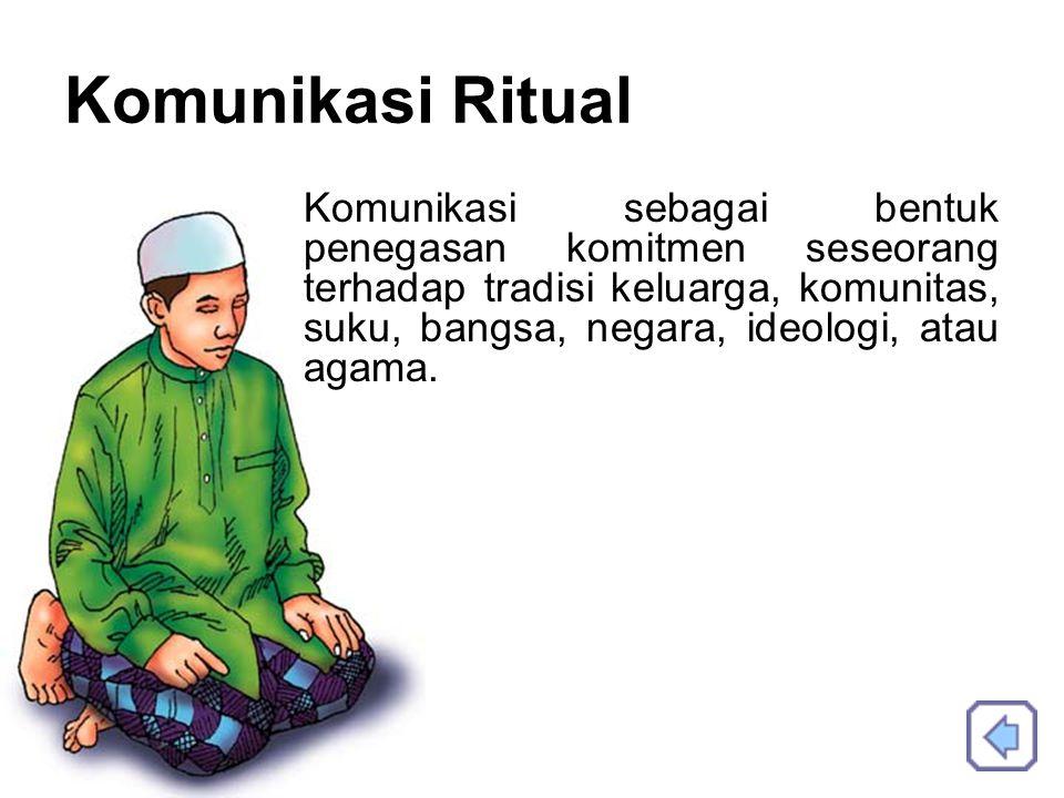 Komunikasi Ritual