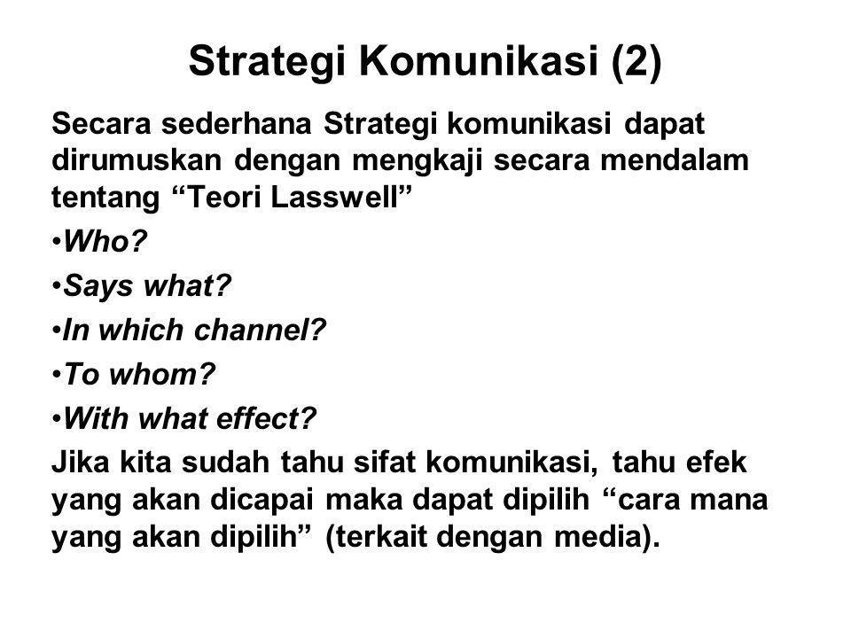 Strategi Komunikasi (2)