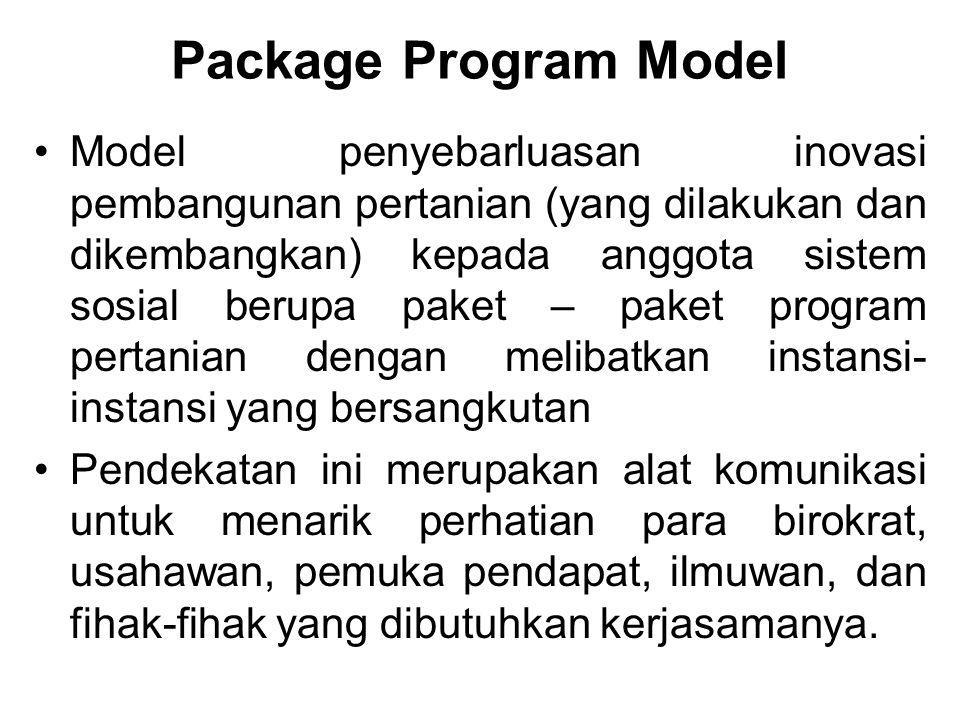 Package Program Model