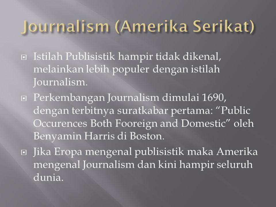 Journalism (Amerika Serikat)