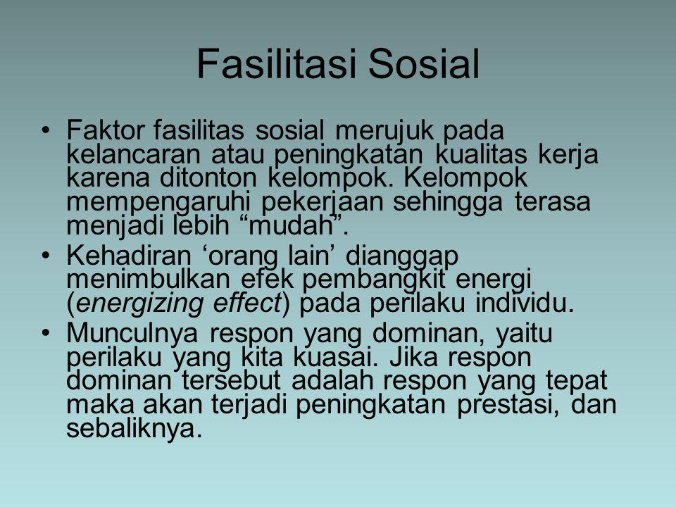 Fasilitasi Sosial