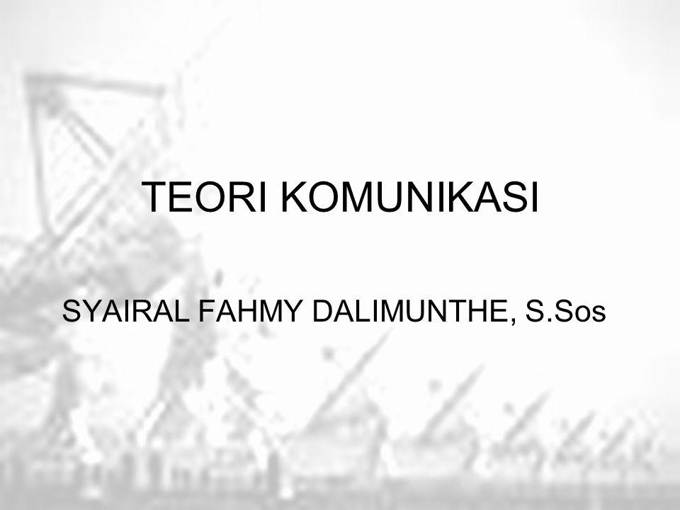 SYAIRAL FAHMY DALIMUNTHE, S.Sos