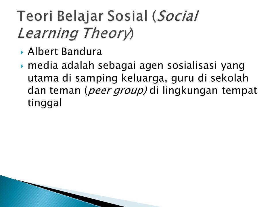 Teori Belajar Sosial (Social Learning Theory)