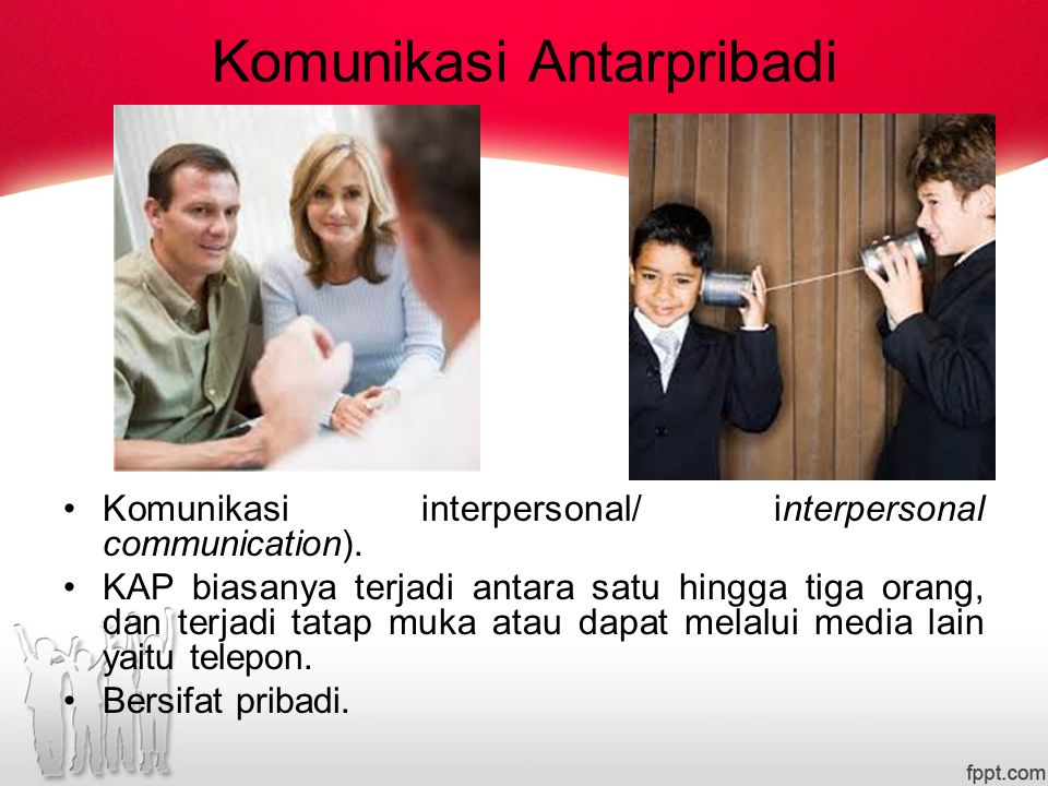 Komunikasi Antarpribadi