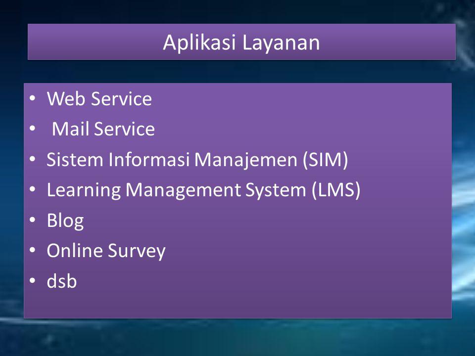 Aplikasi Layanan Web Service Mail Service