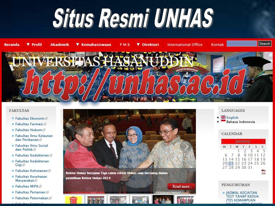 Situs Resmi UNHAS http://unhas.ac.id