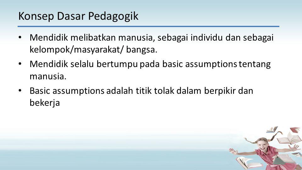 Konsep Dasar Pedagogik