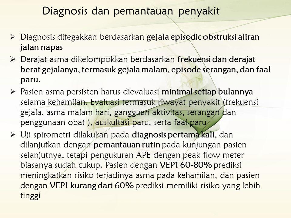 Diagnosis dan pemantauan penyakit