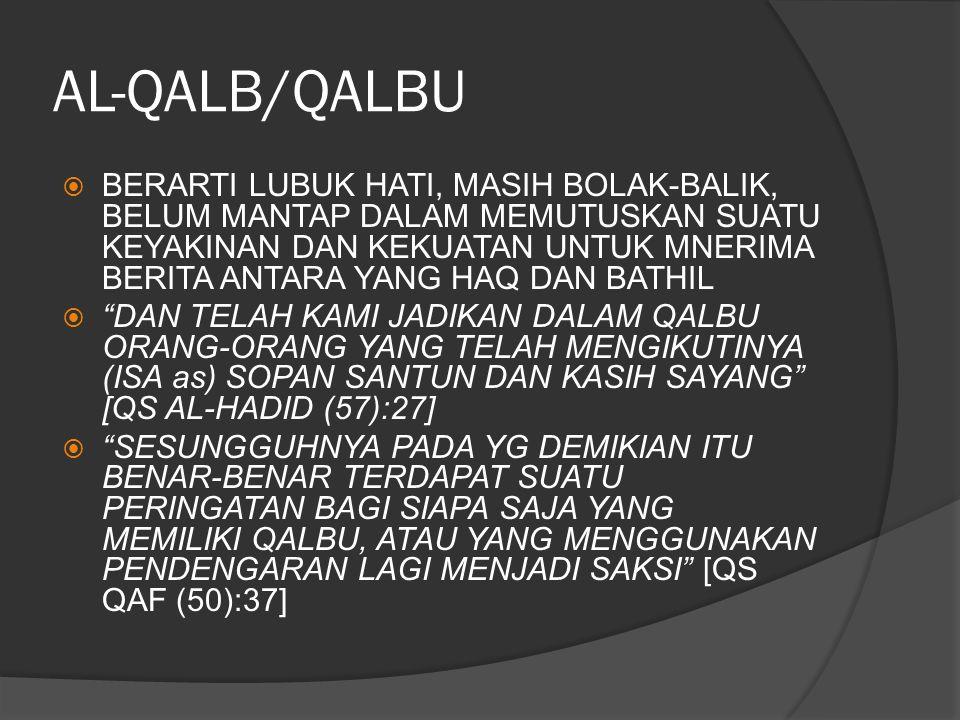 AL-QALB/QALBU