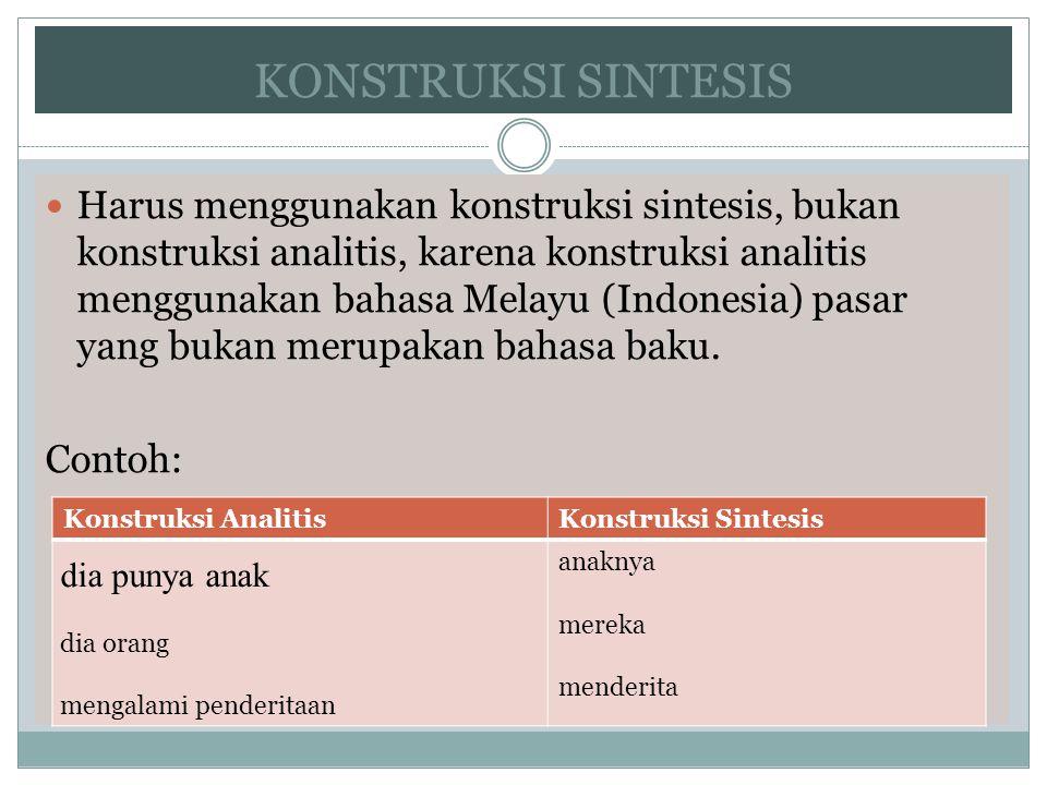 KONSTRUKSI SINTESIS