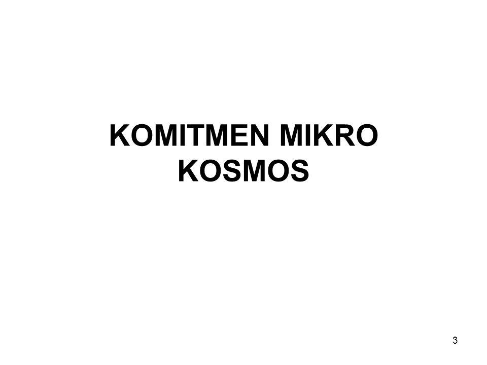 KOMITMEN MIKRO KOSMOS 3
