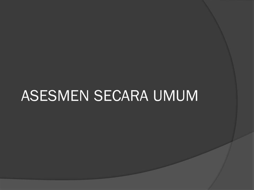 ASESMEN SECARA UMUM
