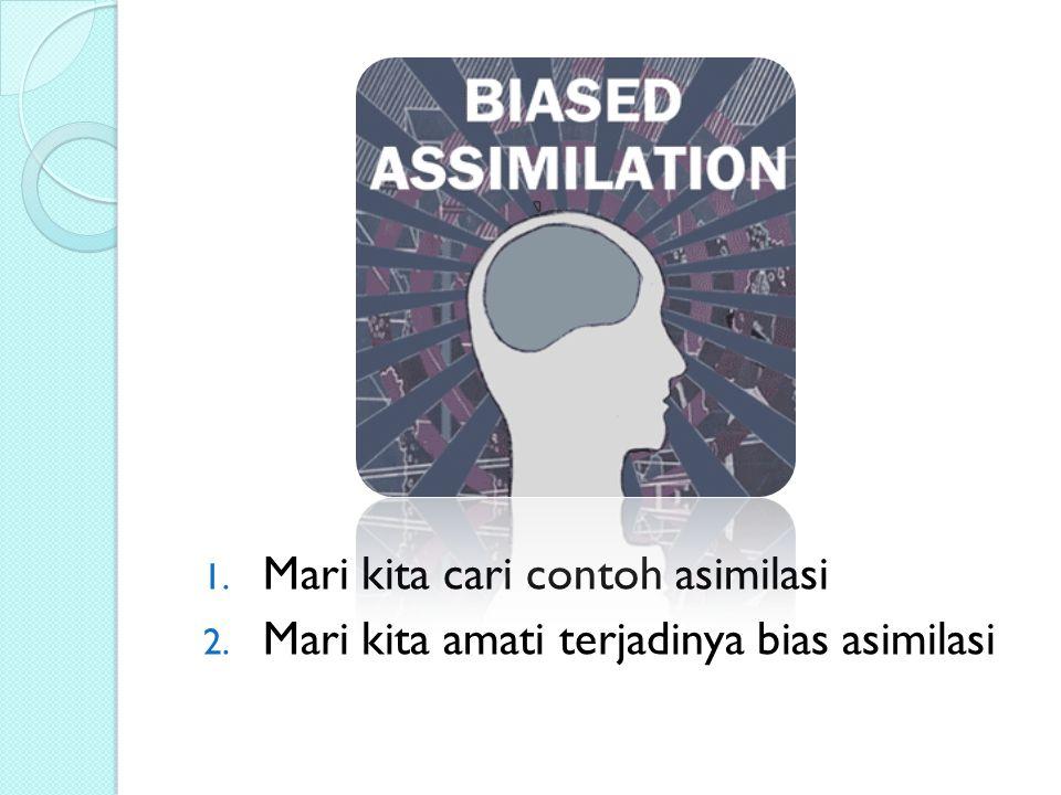 Mari kita cari contoh asimilasi