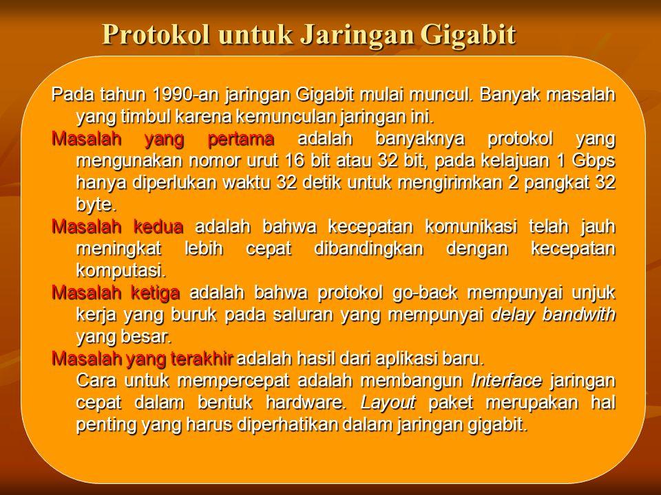 Protokol untuk Jaringan Gigabit